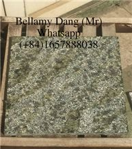 Good Price Flamed Dark Grey Natural Granite with Yellow Spotted
