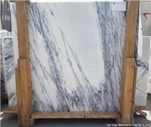 Lilac White 2cm Slabs & Tiles, Milas Lilac Marble Slabs