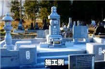 Shibayama Ishi Granite Monuments, Japanese Traditional Tombstone