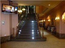 Roc Black Granite Staircase