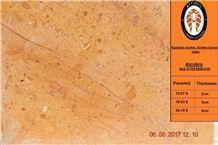 Golden Sinai Marble Slabs