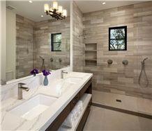 Factory Price Solid Surface Quartz Bathroom Countertops Vanity Tops