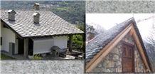 Beola Grigia Servezzo Gneiss Roof Tiles
