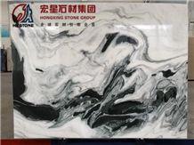 China Polished Panda White Marble Slabs&Tiles Natural Decoration Stone