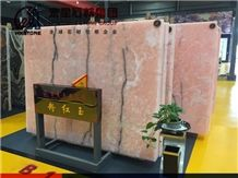 Onice Rosa Naghadeh Pink Onyx Slabs&Tiles for Indoor Wall Decoration