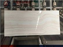 White Tiger Onyx Polished Slabs&Tiles Straight Wooden Vein Backlight