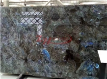 Labradorite Blue Granite Slabs Tiles