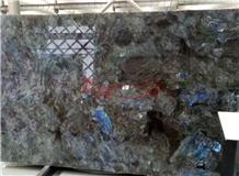 Labradorite Blue Granite Slabs Tiles