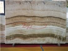 Multicolor Onyx Slabs English Jade Slabs for Wall Covering
