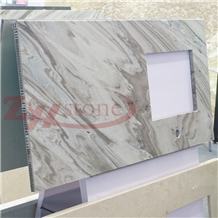 Palissandro Azzurro Marble Honeycomb Countertop