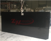Platinum Black Granite Slabs Tile for Wall Cladding