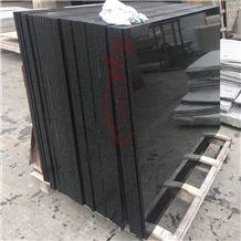 Polished Platinum Black Granite Stairs Skirting