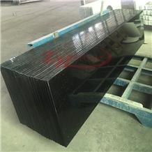 Polished Shanxi Black Granite Bathroom Countertop