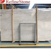 Crystal Rose Beige Marble Slabs Tiles