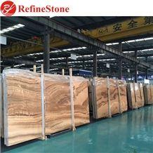 Imperial Wood Vein Marble Slabs, Royal Wood Grain Marble Tiles