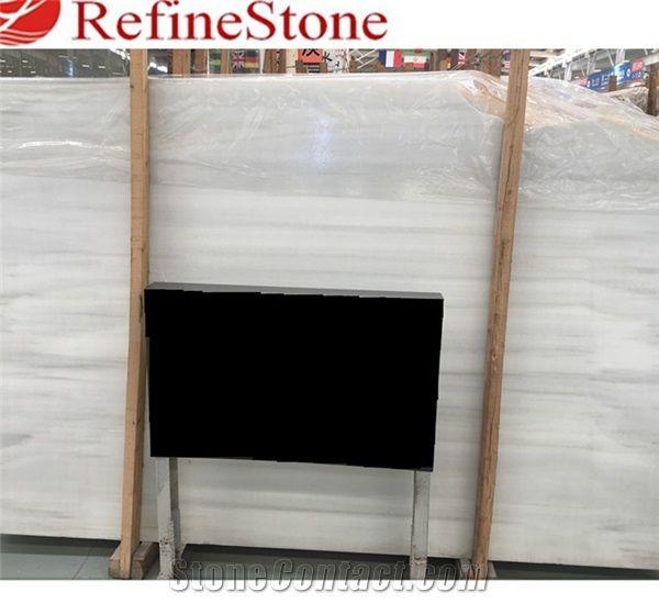 Spanish White Jade Marble Slabs Tiles For Countertops