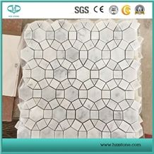 White Marble Mosaic/Bianco Carrara Marble Mosaic