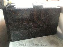 Polished Tan Brown Granite Worktops Countertops