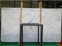 Bianco Carrara White Marble Big Slabs,2cm Slabs,Uniform Veins