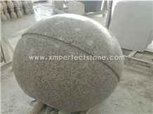 Car Packing Balls/Packing Bollards,Light Grey Solid Sphere with Groove
