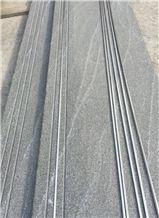 American Virginia Black Jet Mist Granite Stairs Tiles for Interior