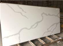 Calacatta Nova Quartz, China Quartz Stone, White Quartz Countertop Slabs & Tiles