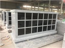 All Grey with Black Shutter 42 Niche Columbarium
