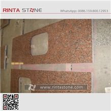 Capao Bonito Arple Leaf Red Ahorn Rot Paradox Dark Granite Countertops