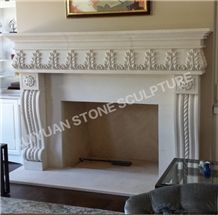 Fireplace Mantel Marble Fireplace Surround