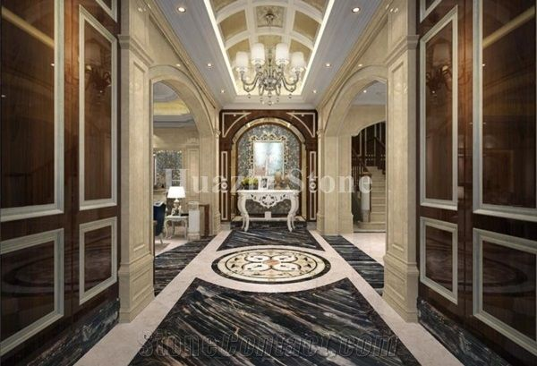 Black Marble Tiles Slabs Home Interior Wall Tiles Design Flooring From China Stonecontact Com