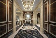 Black Marble Tiles & Slabs, Home Interior Wall Tiles Design, Flooring