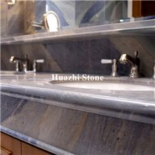 China Luxury and Excellent Galaxy Blue Marble Apply in Bath Top