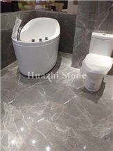 Hermes Grey Marble Interior Decor Projects, Grey Marble Tiles & Slabs