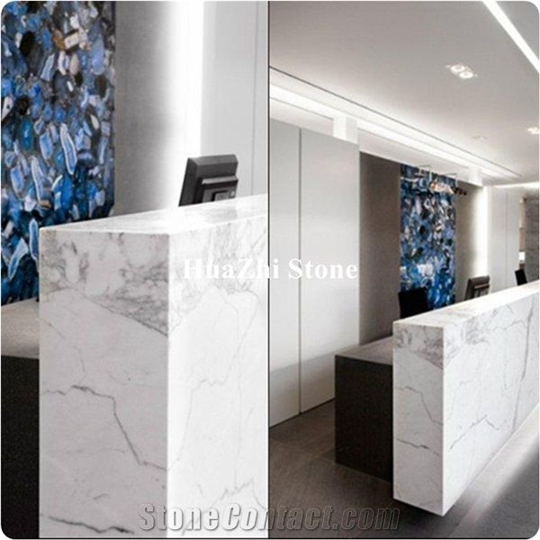 White Marble Of Italian Sunny Calacatta White Marble Marble Price From China Stonecontact Com