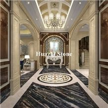Wholesales Chinese Phantom Black Marble Tiles Mesmeric Black Project P