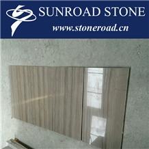 China Italian Wood Grain Grey,Ironwood Marble Floor Wall Tilescovering