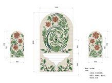 Beautiful Flower Medallion / Colorful Marble Floor Medallions