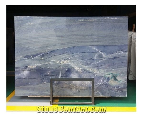 Blue Sky Ocean Sea Marble, Wall/Floor/Bathroom Stone Slabs/Tiles Decor