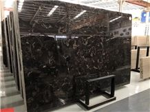 Chinese Popular Cheap Dark Emperador Marble Polished Slabs & Tiles