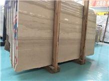 Dark Beige Wooden Veined Marble for Store, China Serpeggiante Scuro