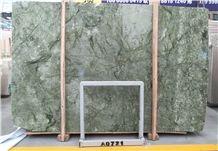 Diract Sale Danton Dark Green Marble Slabs for Wall/Flooring Covering