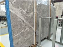 Dora Cloud Grey Marble Slabs Tiles Turkish Natural Stone Material