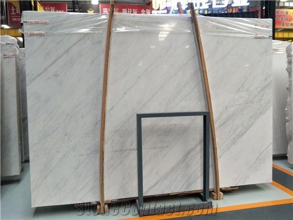 Fantastic East White Marble Slab&Tiles for Hotel or Office