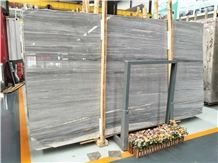 Galaxy Grey Wood Vein Marble Slab&Tile for Wall and Floor Covering