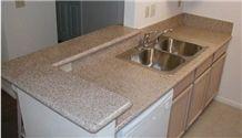 Granite Counter Tops Rusty Yellow Counter Top,Granite Kitchen Countertop