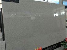 Moca Light Grey Artificial Quartz Stone Slabs&Tiles for Vanity Tops