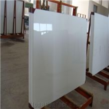 Nano Crystallized Stone Pure White Artificial Marble Tiles & Slabs