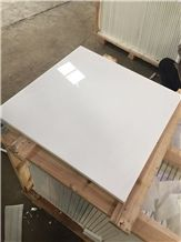 Nano Glass Crystallized Stone Slabs, Artificial White for Wall