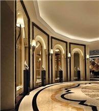 New Beige Crema Ultraman Marble Slab,Wall Flooring Turkey Ottoman Tile