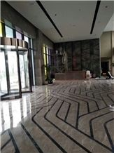 New Grey Marble/Own Quarry/Hotel Decoration/Polished and Honed